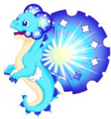 Snowflake Dragon III Adult