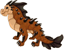 Leathery Dragon Adult