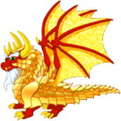 Gold Dragon Adult