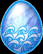 Aquamarine Dragon Egg