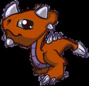 Metal Dragon Baby