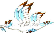 Snowy Bronze Dragon Adult