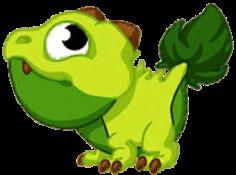 Meadow Dragon Baby