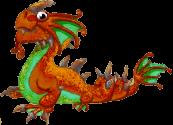Rust Dragon Adult