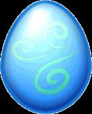 Snow Dragon Egg