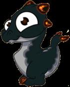 Ash Dragon Baby
