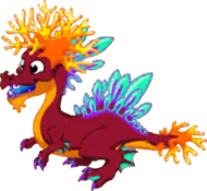 Coral Dragon Adult