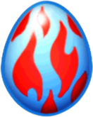 Frostfire Dragon Egg