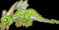 Zombie Dragon Juvinile
