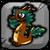 Bronze Dragon Baby Icon