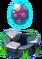Meteor Twin Pedestal