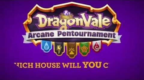 DragonVale's Arcane Pentournament Begins!