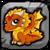 Seasonal Dragon (Autumn) Baby Icon