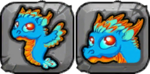 Turquoise Dragon Icon