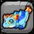 Topaz Dragon Baby Icon