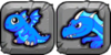 Blue Fire Dragon Icon