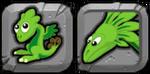Plant Dragon Icon