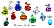 Gemstone Zodiac Award