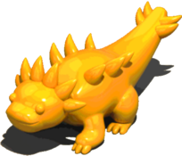 YellowDragonFigurine