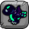 Dark Dragon Baby Icon