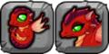 Ruby Dragon Icon