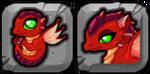 Ruby Dragon Icon