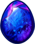 Sapphire Dragon Egg