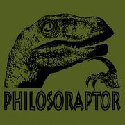 Philosoraptor Green large