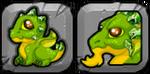 Peridot Dragon Icon
