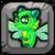 Emerald Dragon Baby Icon