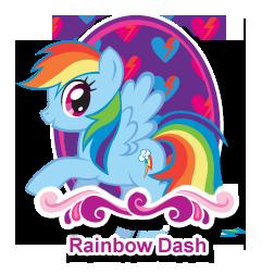 FANMADE mlpfim-character-rainbow-dash 252x252