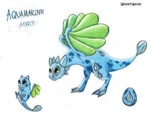 WTL Aquamarine Dragon