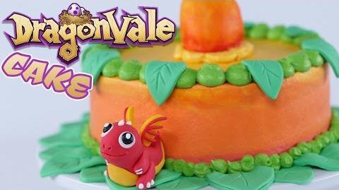 DRAGON FRUIT DRAGONVALE CAKE - NERDY NUMMIES