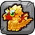 Gold Dragon Baby Icon