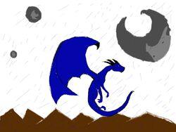 Dragon in rain2 lexxie1
