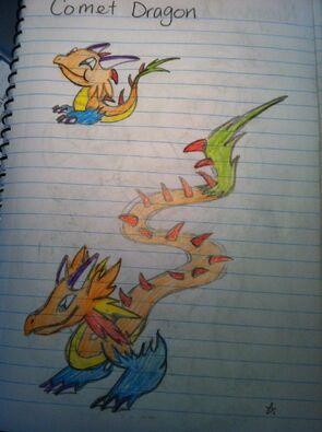 Comet 1 Dragon Art