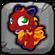 Motley Dragon Baby Icon