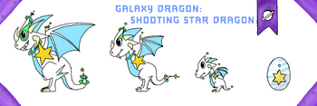 DragonVale shooting star dragon