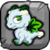 Mistletoe Dragon Baby Icon