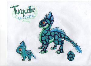 WTL Turquoise Dragon