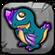 Amethyst Dragon Baby Icon