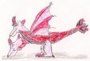Ruby Dragon Adult
