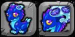Sapphire Dragon Icon