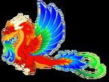 Blazing Gale Dragon