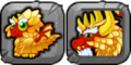 Gold Dragon Icon