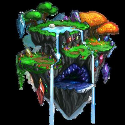 Gemstone Island Concept Artwork