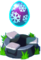 Blizzard Twin Pedestal