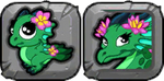 Lotus Dragon Icon