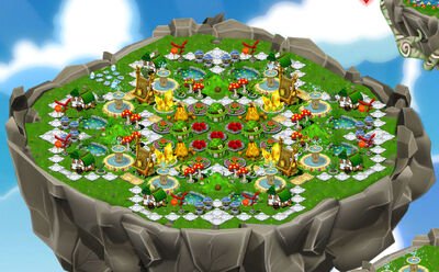 Decoration island