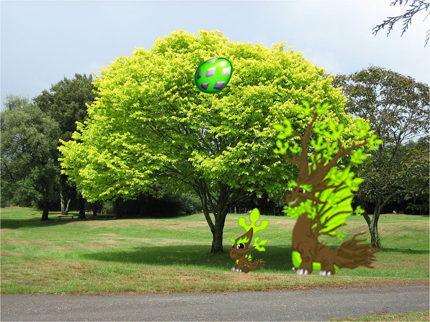 Image - Tree Dragon Background.png | DragonVale Wiki | FANDOM ... for Park Tree Png  150ifm